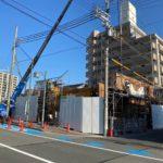 (仮称)「ONLY ONE 三田町」 建築状況